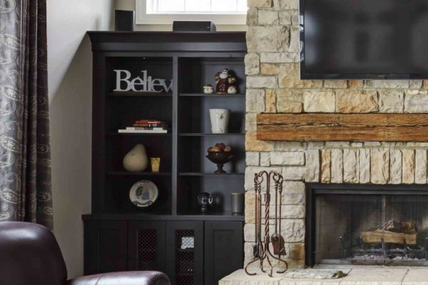 buy custom fireplace mantel installer