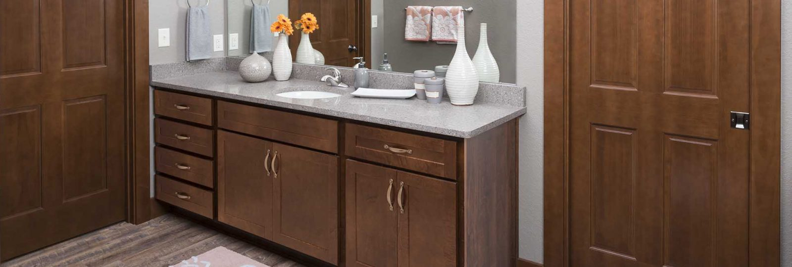 Fine Bathroom Vanities Cabinet Installation Co Heartland Home Interior And Landscaping Ponolsignezvosmurscom
