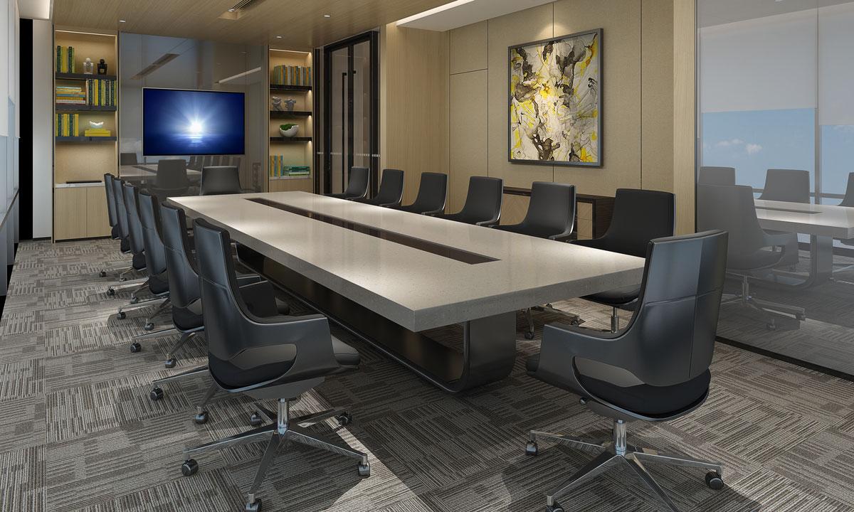 Office Cabinets Custom Reception Counter Heartland Design Iowa