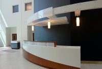 iowa bank teller counter installation