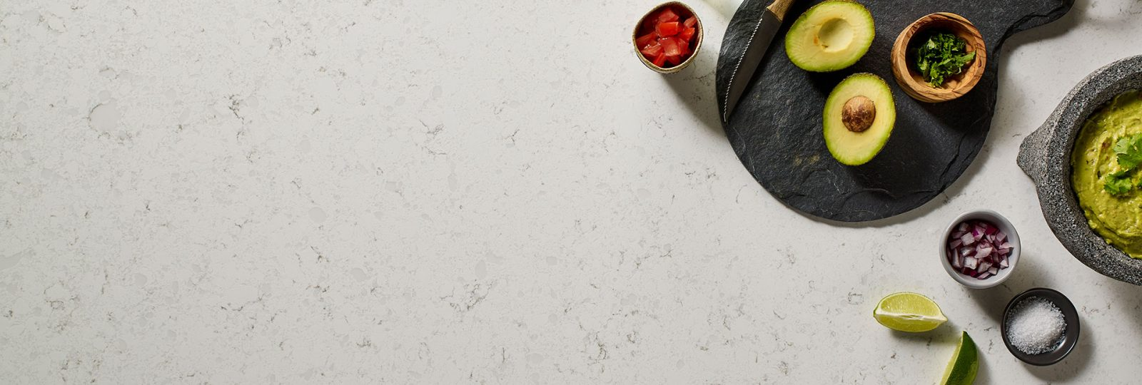 light color quartz countertops