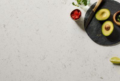 light color quartz countertops