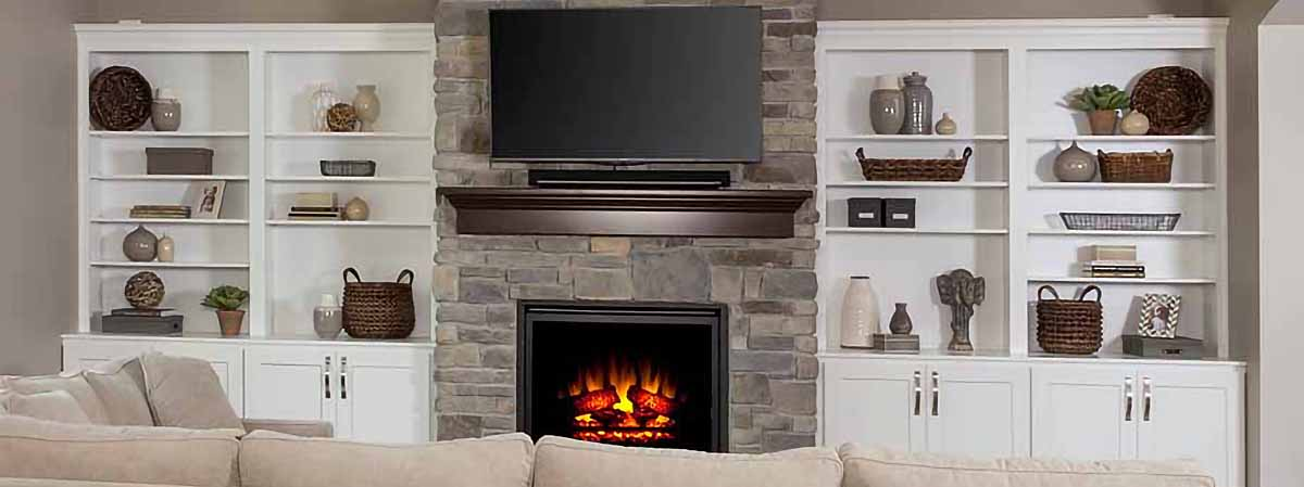 fireplace surround installation iowa city