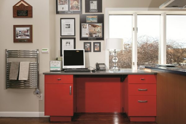 commercial cabinets office desk installer